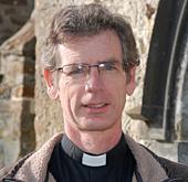 Alex Bienfait, Rector of St Michael Smarden and All Saints Biddenden in Kent, UK