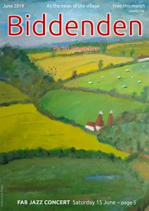 Cover to Biddenden Parish Magazine, June 2019